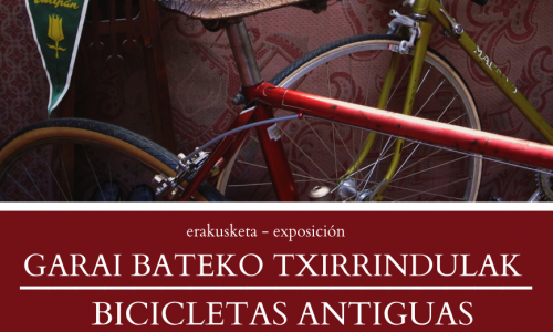 GARAI BATEKO TXIRRINDULAK-Álvaro Iturraspe bilduma-BICICLETAS ANTIGUAS-Colección Álvaro Iturraspe