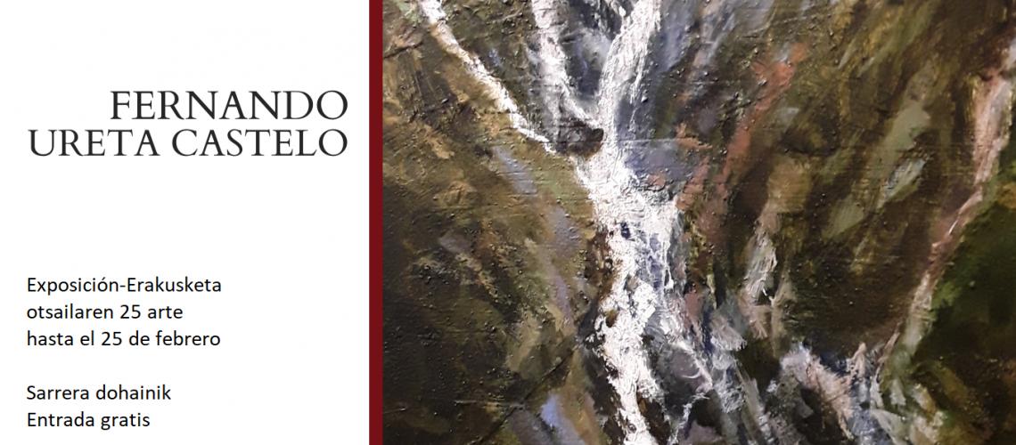 FERNANDO URETA CASTELO- MARGO ERAKUSKETA-EXPOSICIÓN DE PINTURA