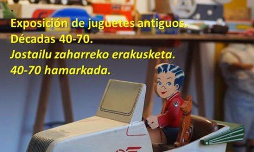 ANTZINAKO JOSTAILUAK-JUGUETES ANTIGUOS  DECADAS 40-80 HAMARKADAK